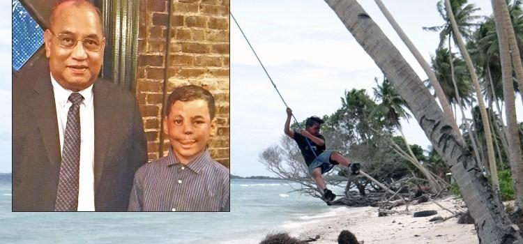 Dallan 9歲的時候不慎從樹上跌落壓到了高壓線
