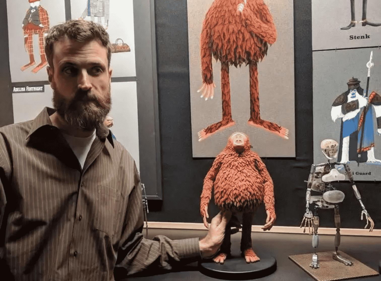 定格动画新高度,3D打印成就科学艺术!-Stratasys 3D打印