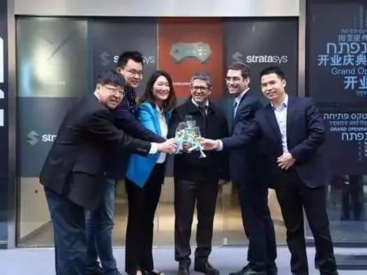 stratasys中国与许多垂直行业的领头客户建立业务关系