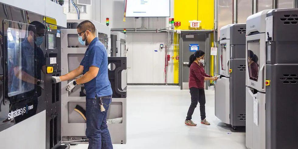 3D打印工厂