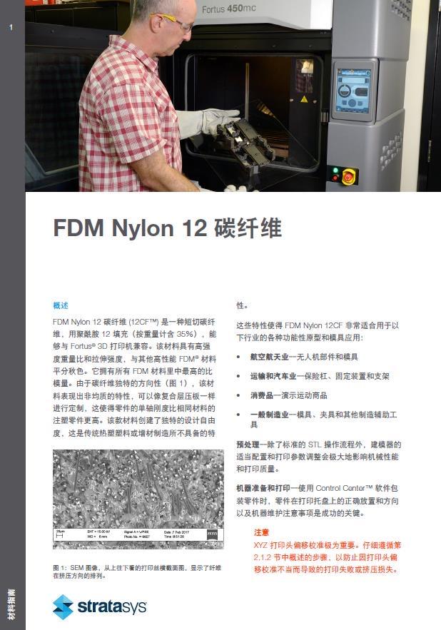尼龙12碳纤维